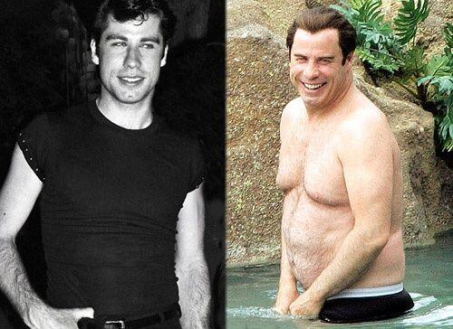 Estos famosos han tenido cambios fisicos tan fuertes durante sus vidas q...