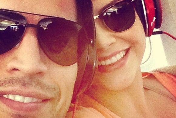 Los futuros esposos ansiosos por llegar a su México, lindo y querido.