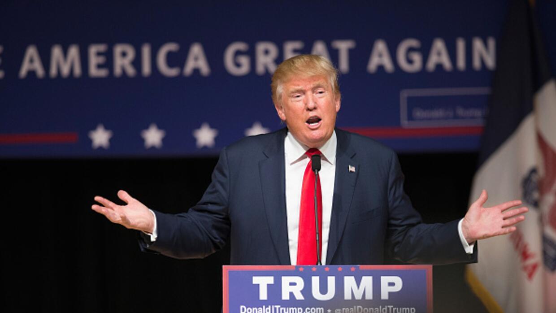 Trump en un evento realizado el 21 de octubre de 2015.