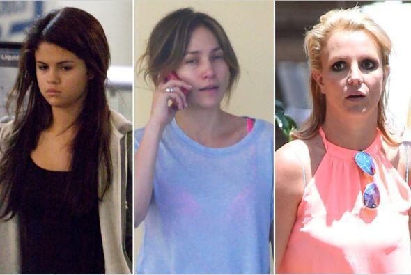 A estas cantantes les hace falta el maquillaje ¿ya viste como lucen sin...