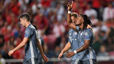 En fotos: Bayern Munich supera 2-0 al Benfica en Portugal por la Champions League