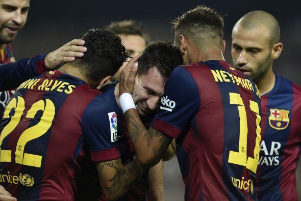 Finalmente llegó el gol de Messi. No le dio para alcanzar a Zarra...