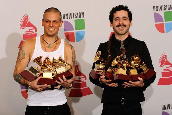 En 2009 ganaron cinco Latin GRAMMY cada uno. Entre las categorías...