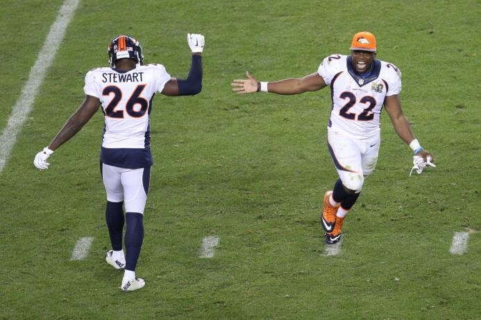 Así celebraron los Denver Broncos y su afición su triunfo en el Super Bo...