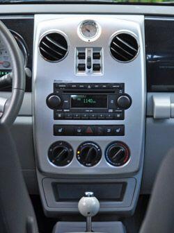 La consola central tiene un diseño funcional y con botones muy intuitivos.