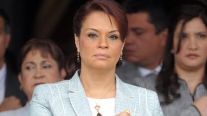 La exvicepresidenta Roxana Baldetti.