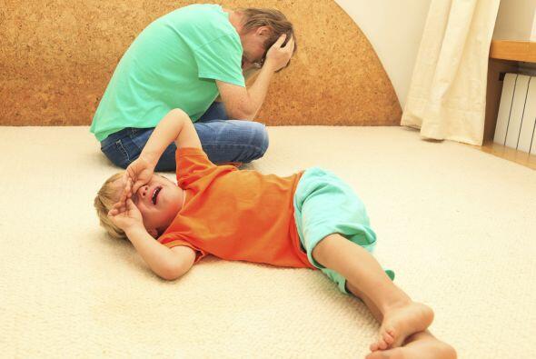 Muchas veces, cuando los niños se empeñan en algo, es para ver si pueden...