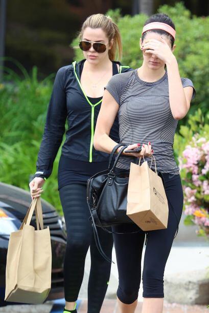 A las Kardashian les gusta hacer todo en familia.