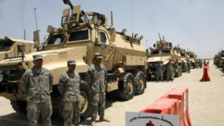 La presencia norteamericana está disminuyendo en Irak.