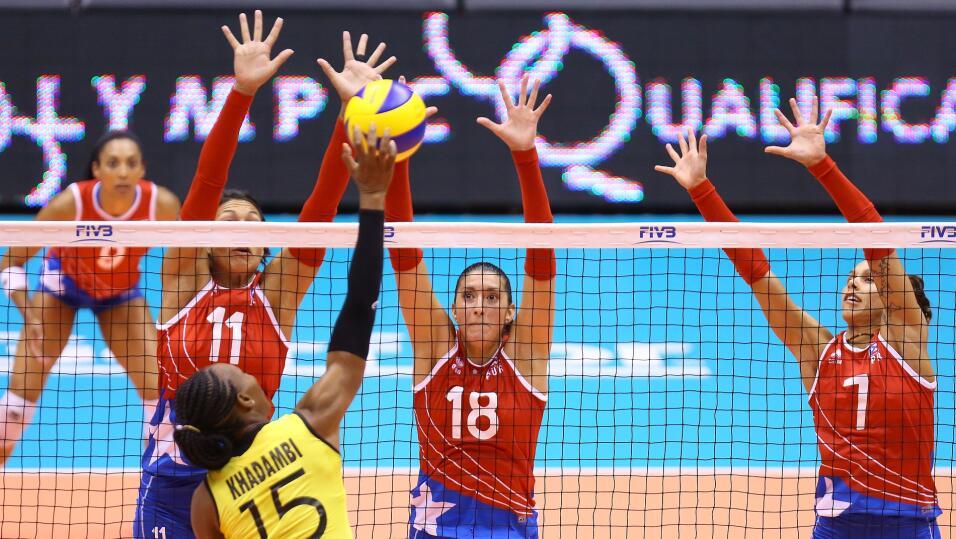 Equipo de Voleibol femenino de Puerto Rico se va pa' las