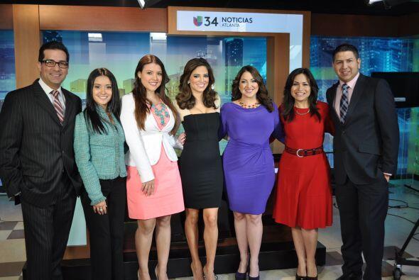Nuestra presentadora Pamela Silva Conde visitó de Atlana hace uno...