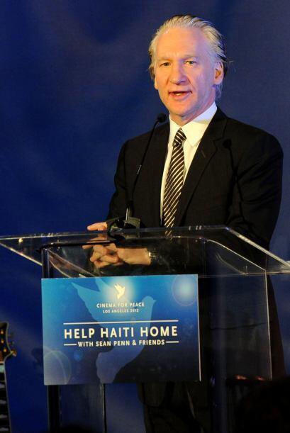 BILL MAHER- El comediante, autor y presentador de TV, Bill Maher, donó e...