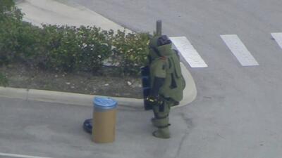 Misterioso cilindro en una calle provocó la evacuación de una guardería de niños