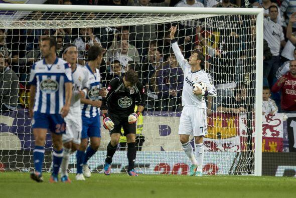 Al 23' se cobró un penalti en favor de los blancos, y Cristiano Ronaldo...