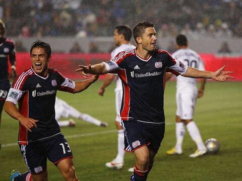 New England Revolution superó al Galaxy de Los Angeles.