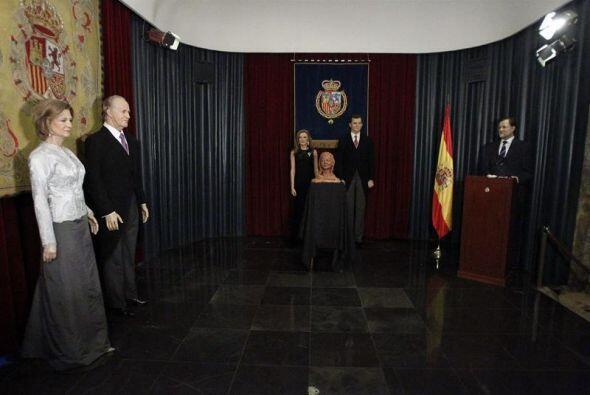 Un día antes de la proclamación de Felipe VI como Rey de España, el Muse...