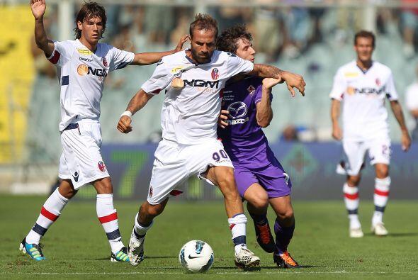 Fiorentina también entró en acción, ante el Bolonia.