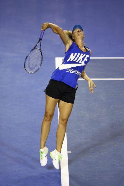 Sharapova regresó al circuito de la WTA en 2011 tras un largo tiempo de...