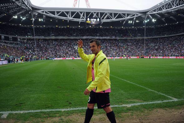 Llegaba el momento en el que Del Piero disfrutara a todos los aficionado...