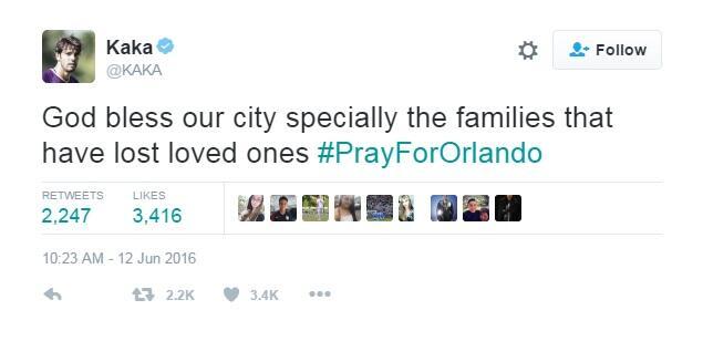 El deporte también lamenta ataque en Orlando