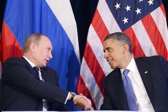 Obama y Putin también hablaron de uno de los principales puntos de tensi...
