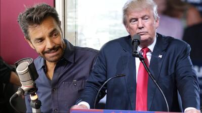 """""""Otra temporada con Trump sería catastrófico"""": Eugenio Derbez"""
