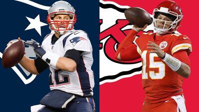 New England vs. Kansas City por la AFC: los fascinantes Chiefs ante los poderosos Patriots