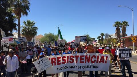 Paula Diaz Marcha 1 de mayo Tucson, Arizona2.jpg