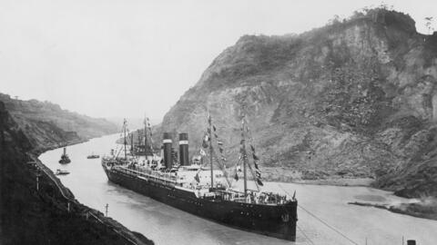 Inauguración del canal de Panama