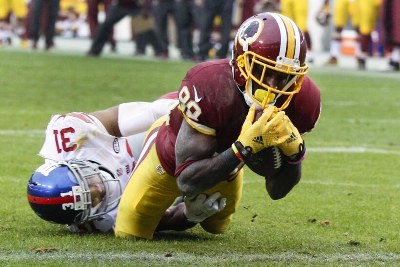 Los Washington Redskins empataron a los New York Giants al tope del Este...