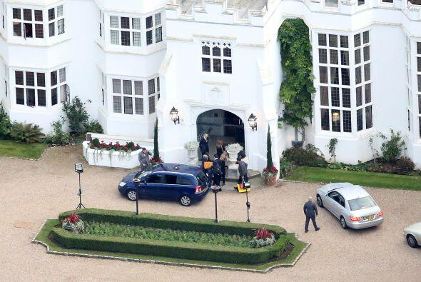 Fue en un exclusivo resort y spa llamado Danesfield House.