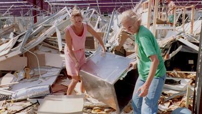 Las fotos de Andrew: El huracán que nadie olvida (ni quiere que se repita) en Florida