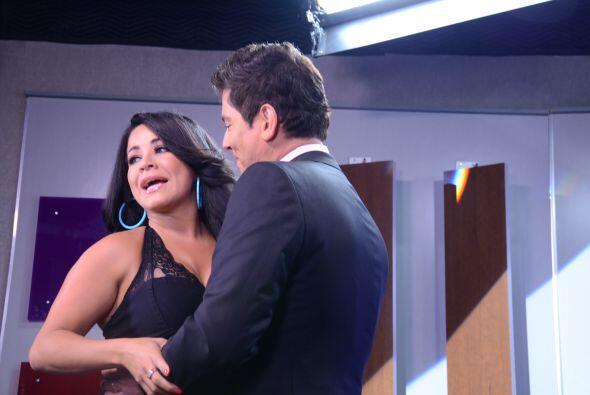 """El picante lo puso Carolina Sandoval de """"La Tijera"""" cuando tuvo su entre..."""