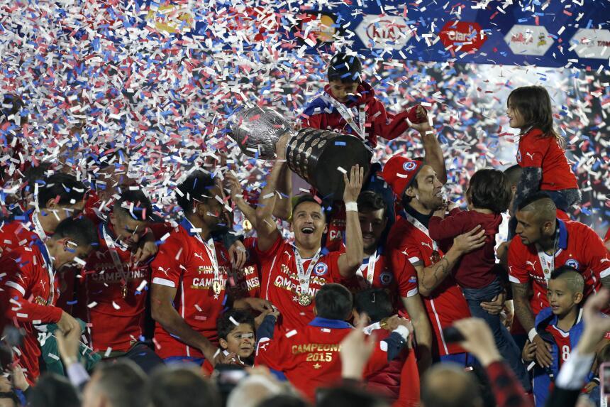 La selección de Chile se apoderó del Cono Sur como anfitrión de la Copa...