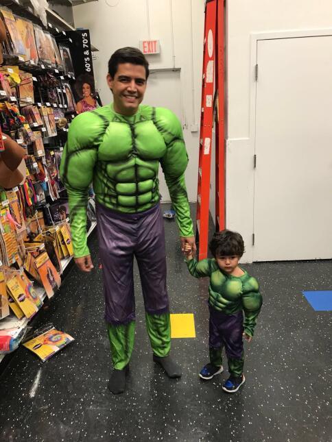 Orlando Segura y Joshua Halloween