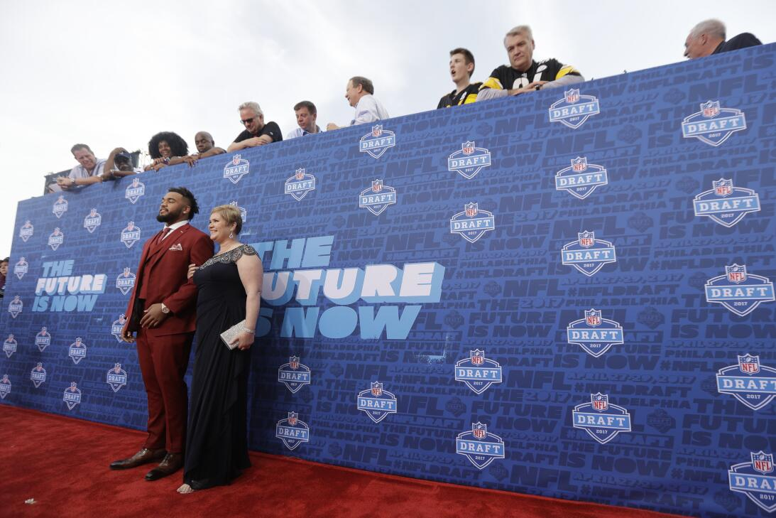 NFL Draft Red Carpet