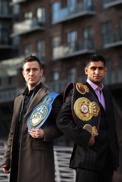 Amir Khan nacido en Bolton, Lancashire, Reino Unido, se las verá con el...