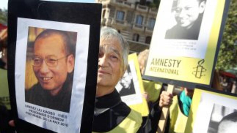 Liu Xiaobo, ex profesor de literatura de 54 años de edad que fue una de...