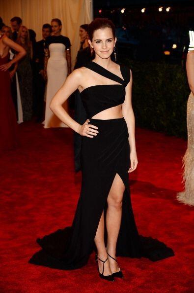 """Emma Watson también acudió a la Gala del MET  """"Punk:..."""
