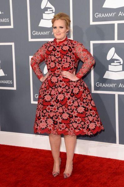 La versión de Caperucita Roja primavera-verano la usó Adele en los Gramm...