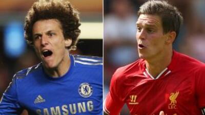 David Luiz y Agger, dos centrales que juegan en la Premier con 'Blues' y...