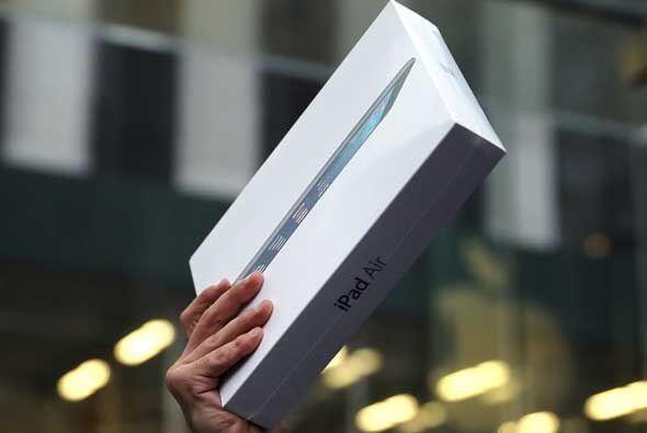 Entre los puntos fuertes con los que el iPad Air compite frente a sus ri...