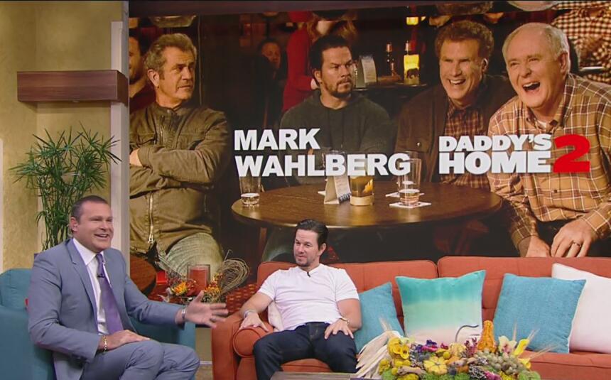 Mark Wahlberg en Despierta América