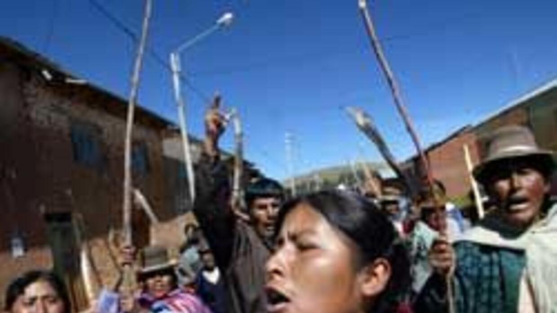 Cada vez es más común que las comunidades indígenas tomen justicia por s...