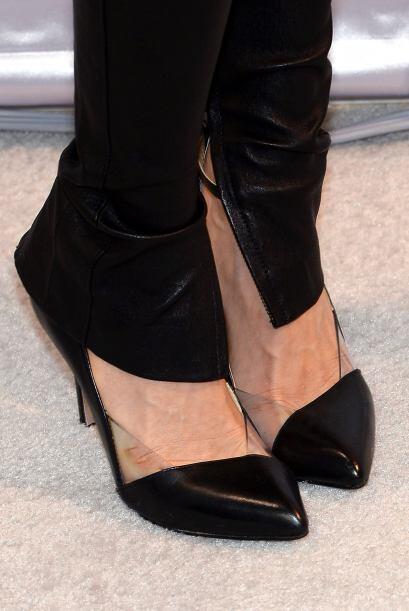 ¿Un truco? La experta recomienda usar zapatos del tono del pantalón y co...