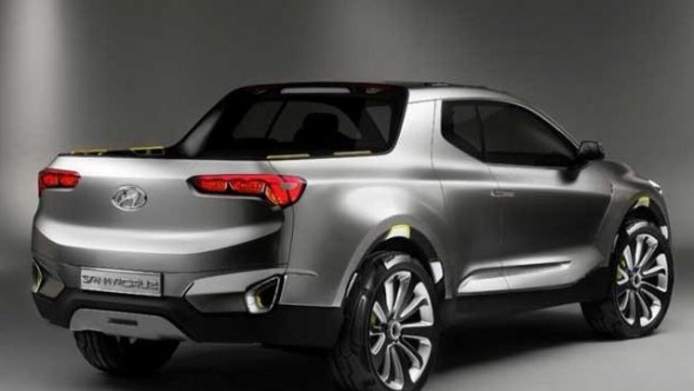 Hyundai Santa Cruz Concept: En cuanto a motorización se ha optado...