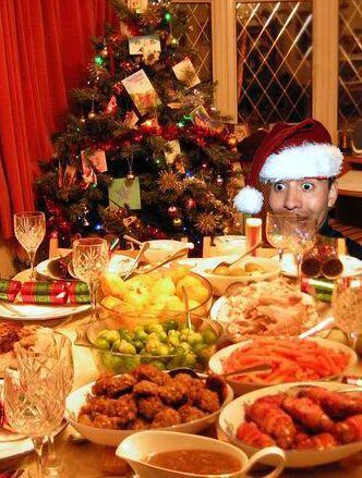 ¡La comidaaaa! Comer es el mejor regalo de la Navidad y si lo hace uno c...