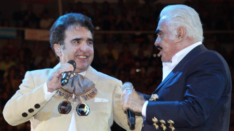 Vicente fernández y jr