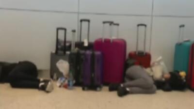 Viaje infernal: un vuelo de ocho horas que se tardó tres días en llegar a su destino