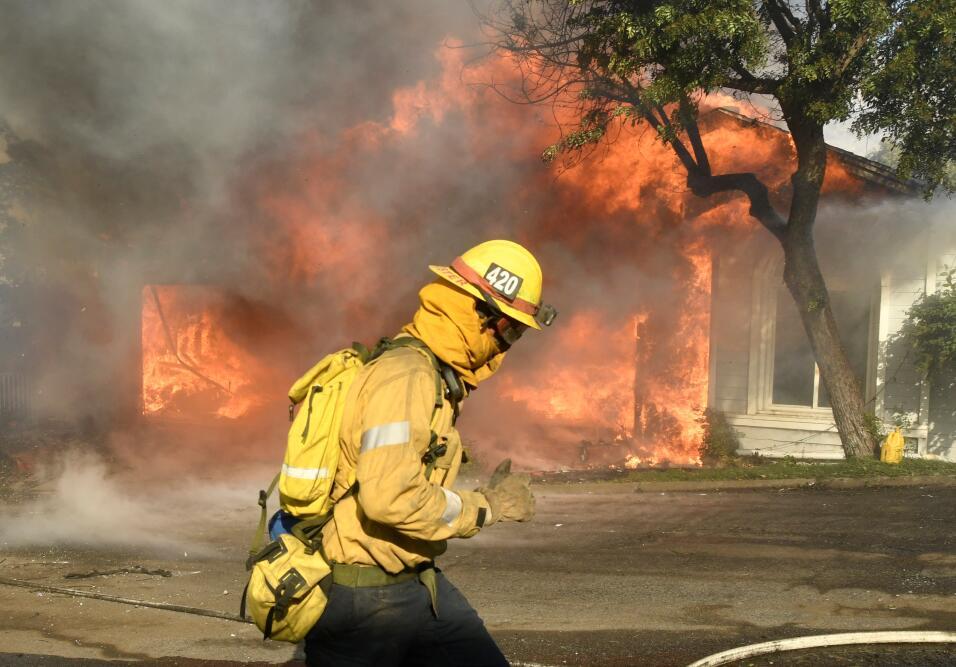 Incendio Los Ángeles